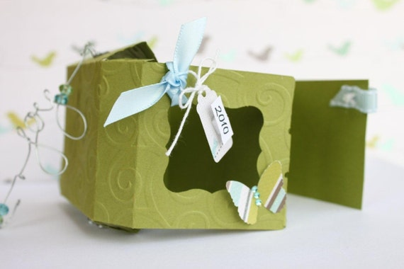 Christmas Holiday Ornament Kit/Mini Scrapbook Album Kit