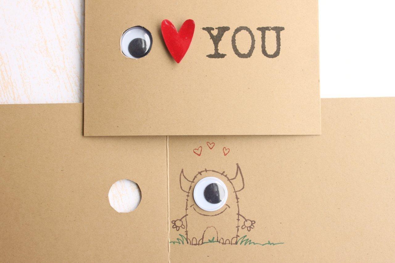Милые самодельные открытки