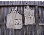Mom and daughter BBQ aprons