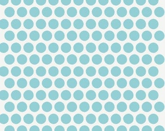 Birch MOD BASICS Dottie Color Pool- Organic Cotton Fabric- Check Out These Shipping Rates