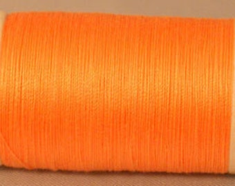Scanfil Organic Cotton Thread- TANGERINE 300yd