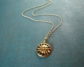 Summer Solstice Necklace, beach theme jewelry
