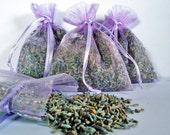 Organic Lavender Sachets - 50 for 50 dollars - FARM FRESH from the Pacific Northwest