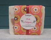 Pink Calypso Tropical Shea Butter Cold Process Soap