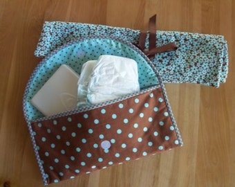 Diaper Clutch and Changing Pad
