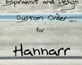 Custom Order for Hannarr- Custom Designed Branding Set