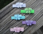 U PICK 2- Shiny Butterfly Clips