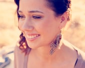 Sale 15% off Guinea Feather Earrings Now 28.90