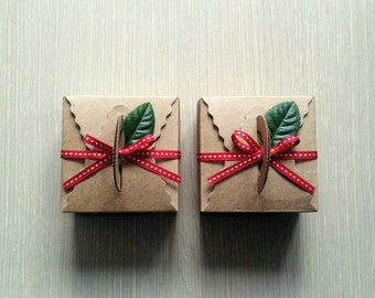 10 Kraft Tote Bakery Boxes