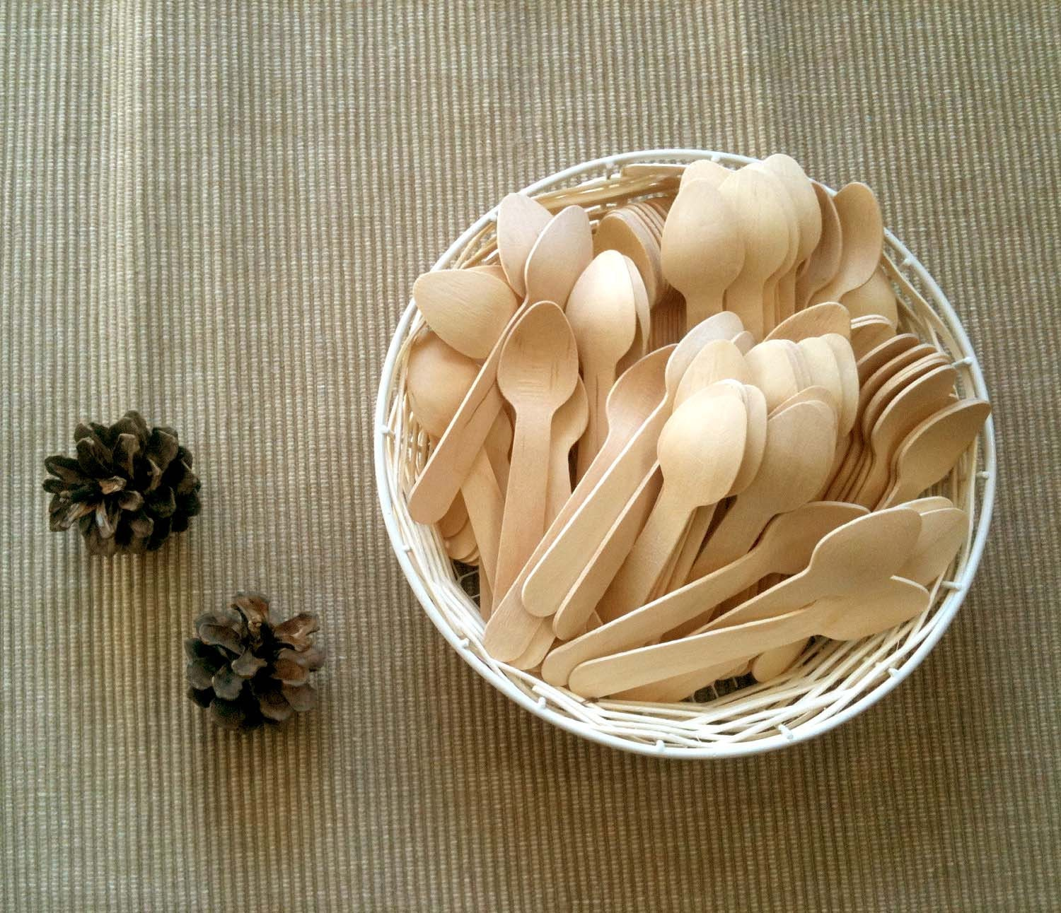 craft ready 100 mini wooden spoons for stamping painting