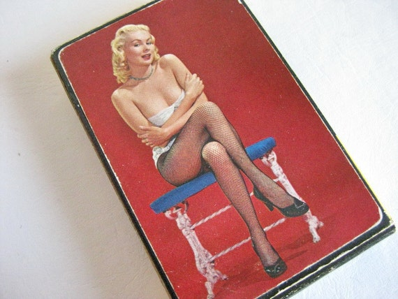 Vintage Pin Up Playing Cards Full Deck