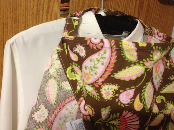 Nursing Cover with POCKETS Paisley Candy Apple Garden on brown Over 90 Other Styles AVAILABLE Check My Shop Great PRICE