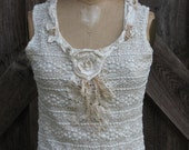 camisole lace in ivory romantic