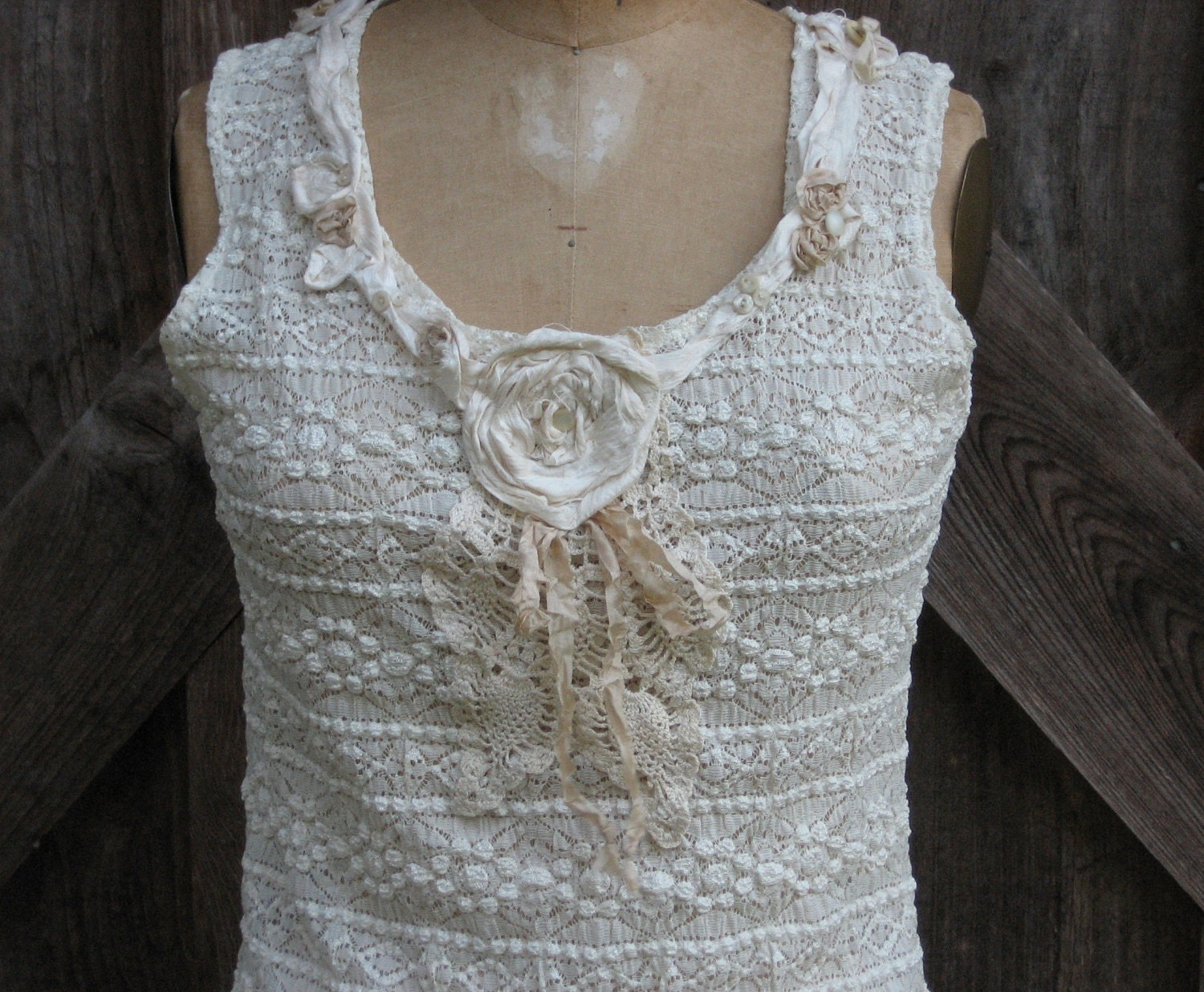 Camisole Lace In Ivory Romantic By BonnieHarris On Etsy