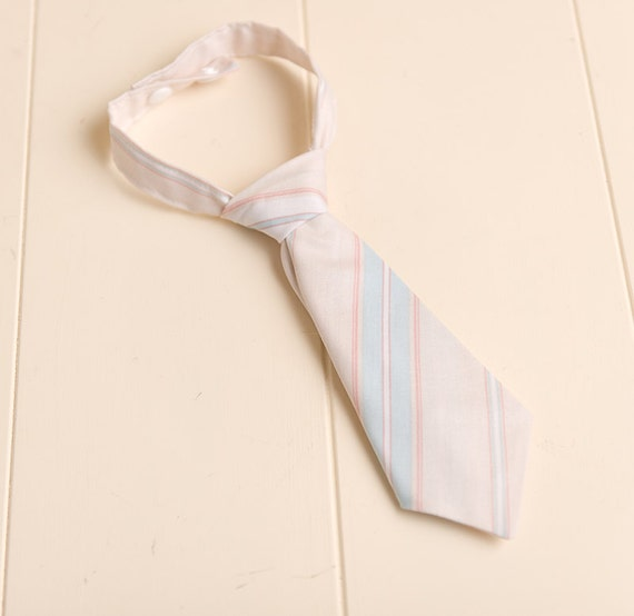 blue/pink spring Baby Newborn boy NECK TIE ( fits up to 1 year) ReAdY tO sHiP