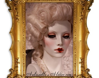 Rococo Powdered Wig -Le Artois-  Versailles Courtier Style By Kathleen Marie