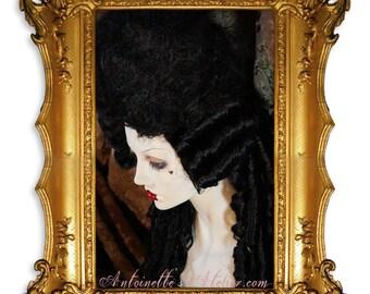 Marie Antoinette Wig -La Du Barry- Perfect Rococo Wig for Costume Balls, Venice Carnival, Halloween