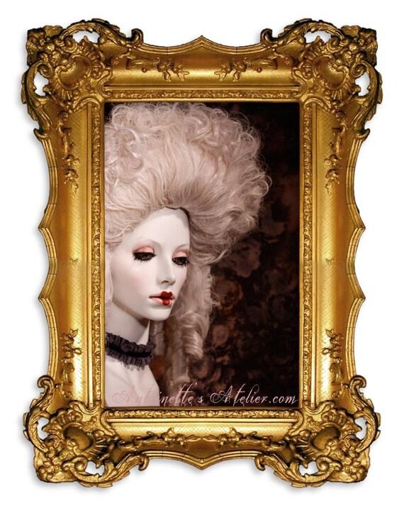 Rococo Wig -La Devonshire- Marie Antoinette Wig 1770's style