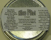 1 oz Travel Tin Nice Pits Underarm and Foot Pure Odorant
