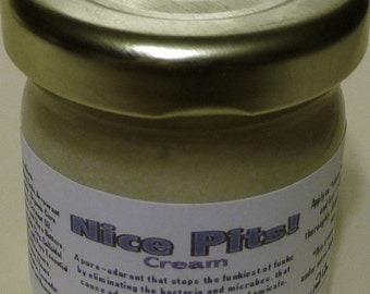 Pure-Odorant for Underarms and Feet in recyclable 1.5 oz glass container.