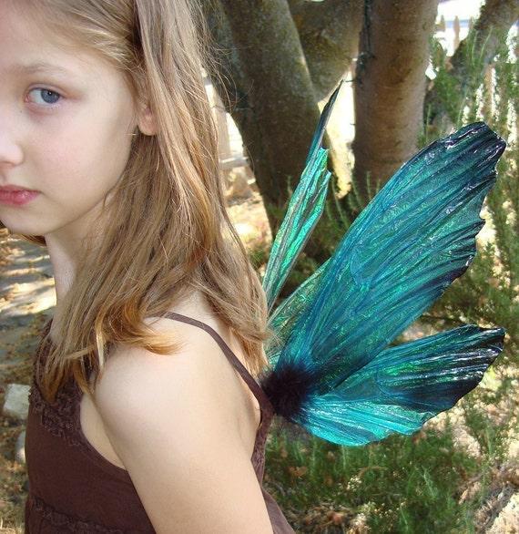 Rainforest Beatle Faery CUSTOM Costume Wings