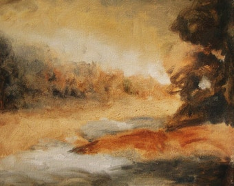 Sienna Landscape