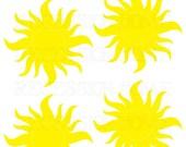 Disney Princess - Tangled kingdom Sun - Printable