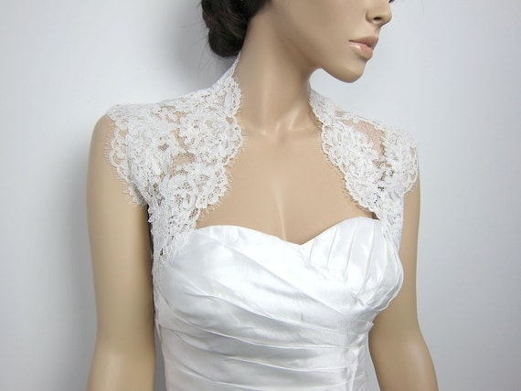 Wedding Gown Bolero Shrug 12