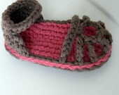 Baby Summer Sandals Pattern-Permission to sell finished items.
