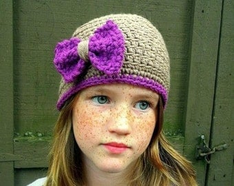 Kaelyn Cap Crochet Pattern-Permission to sell finished items.Immediate PDF file download.