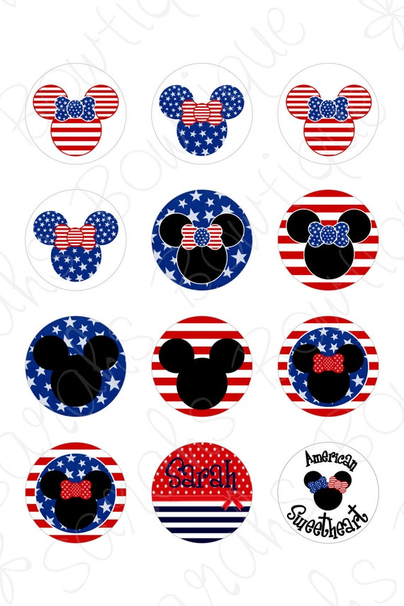 American Sweetheart minnie inspired customized images