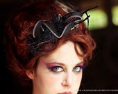 Ramona - Black Punk Rocker Headband
