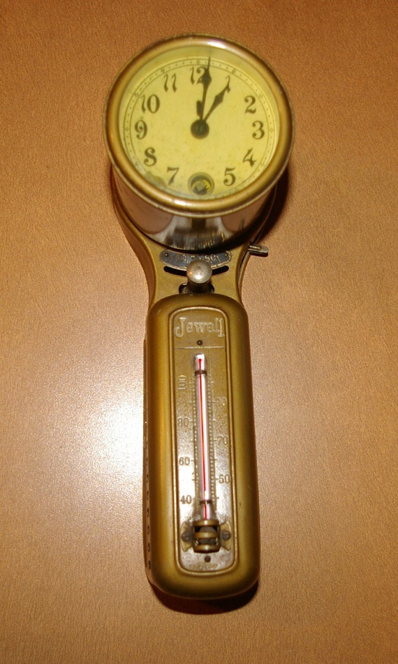 1900 S Antique Jewell Thermostat Clock By Tycos Rare