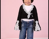 Custom Boutique Crocheted Shrug, Bolero, Sweater.. Easter, Holidays.....
