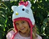 Custom Crocheted Cat Hat