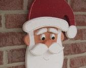 SANTA  for Christmas, wall and door hanging decor