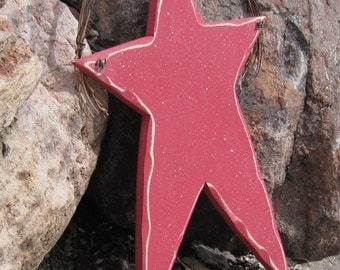 LARGE HANGING STAR for Americana, July 4th, wall and door hanging decor