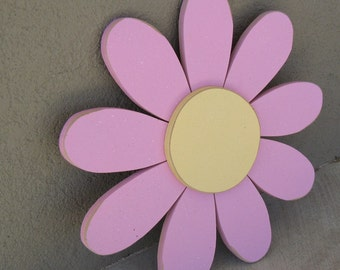 Large PINK DAISY for wall hanging bedroom or home decor