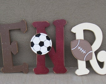 Custom Personalized NAME or WORD LETTERS for children, home, wall, bedroom, decor
