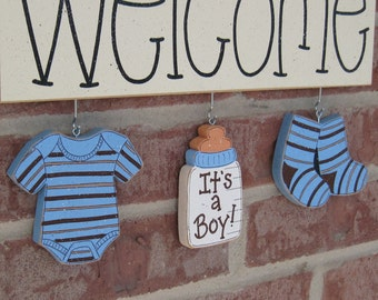 Baby shower supplies for boys best baby decoration for Baby welcome party decoration ideas