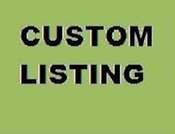 """Custom listing for pooja605 --Custom """"READ"""" blocks"""