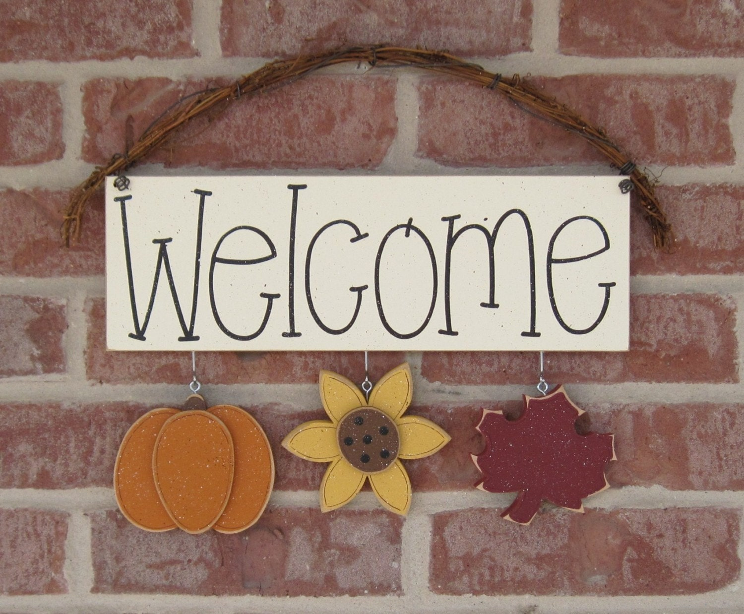 Monthly Welcome Sign September For Wall And Home Decor
