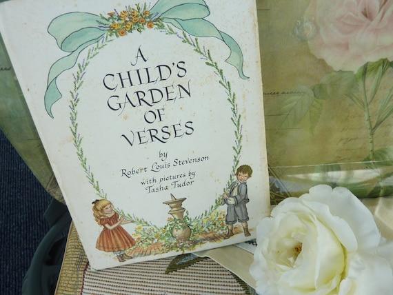 A Child's Garden of Verses R. L. Stevenson  Tasha Tudor Free US Shipping