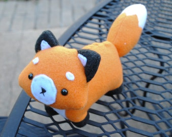 Fox Plushie - MADE TO ODER