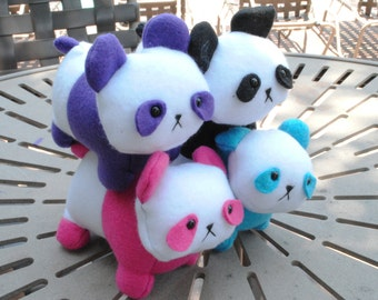 Panda Plush CHOOSE YOUR COLOR