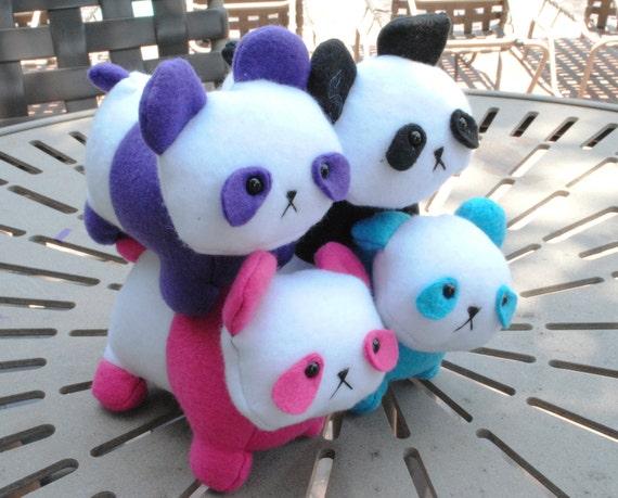 Panda Plush CHOOSE YOUR COLOR