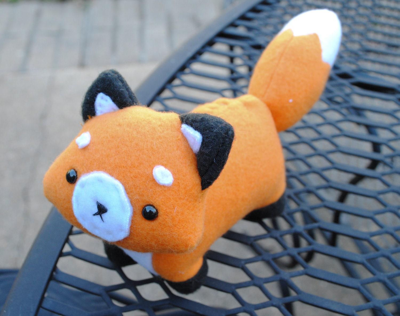 Fox Plushie MADE TO ODER