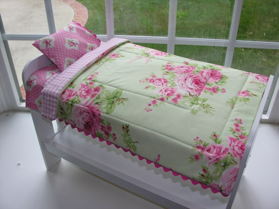 American Girl Doll Twin Bed Size Bedding