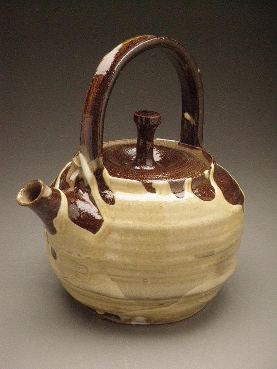 Tea pot, Wabi Sabi with Anti Gravity Drips