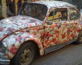 Fruit Beetle original photo TEL AVIV Epitome of 1970s Soul signed phipps y moran Flipping Gypsy Photography SURPRISE Free Mat Ready To Frame